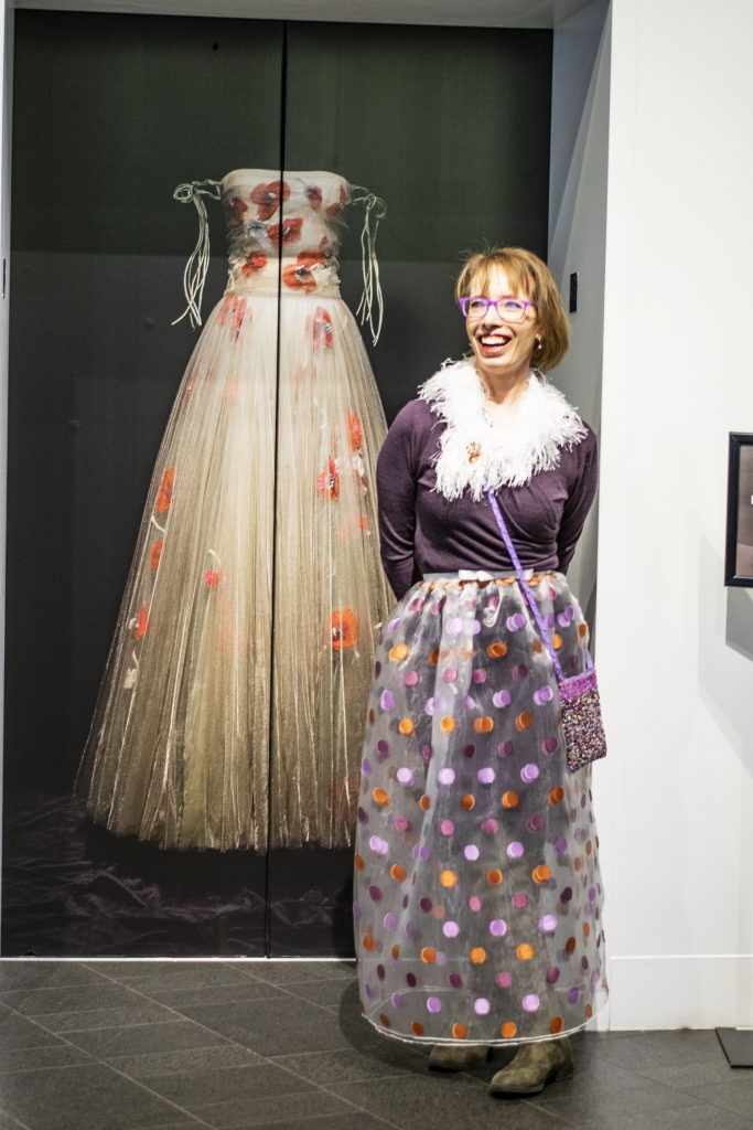 Fashion to wear for Woman over 50 style at the Dior exhibition