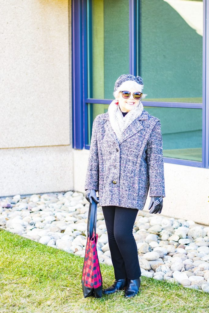 How to mix and match prints for women 70 plus