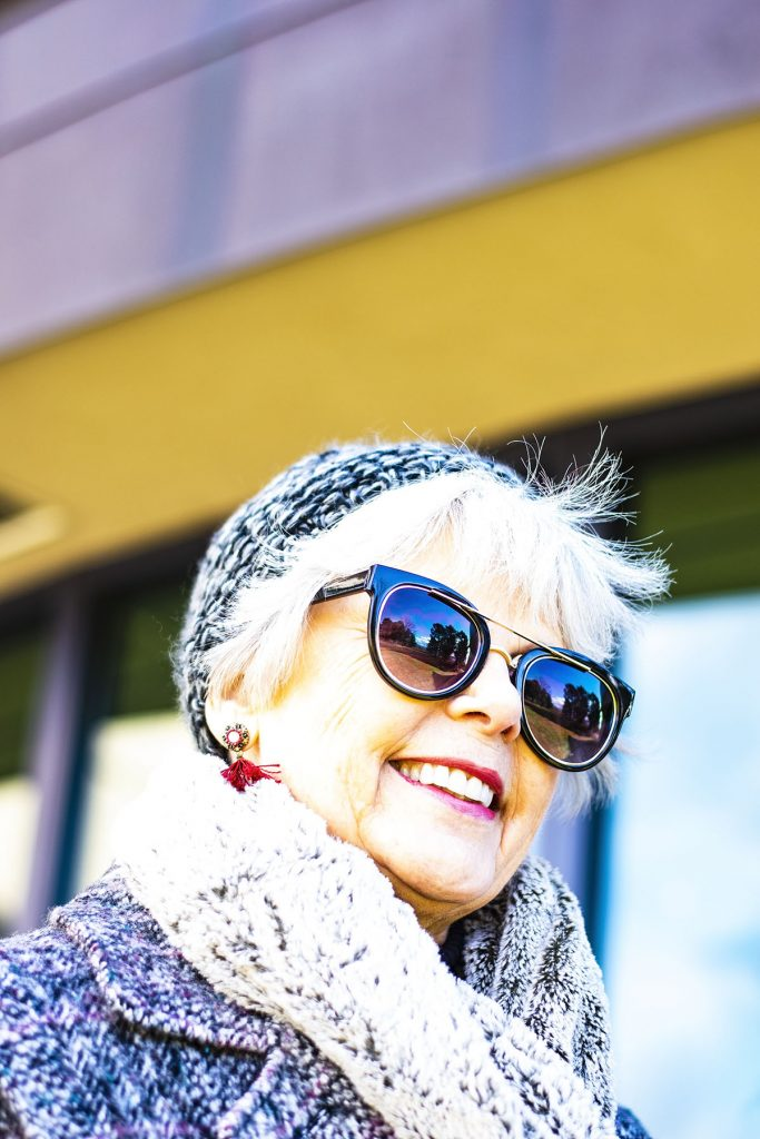 How to mix and match prints for ladies over 60