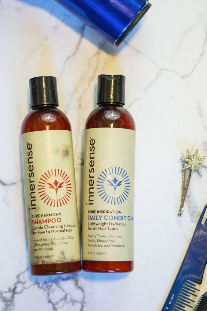 Reviewing hair products for thickening hair with InnerSense