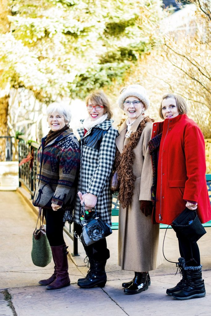 Stylish winter wool coats for women over 50