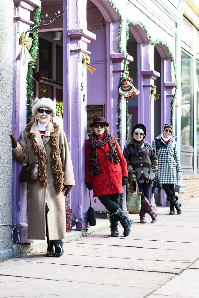 Stylish winter wool coats for women from age 50-80