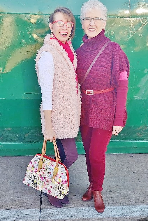 February highlights with mom and daughter