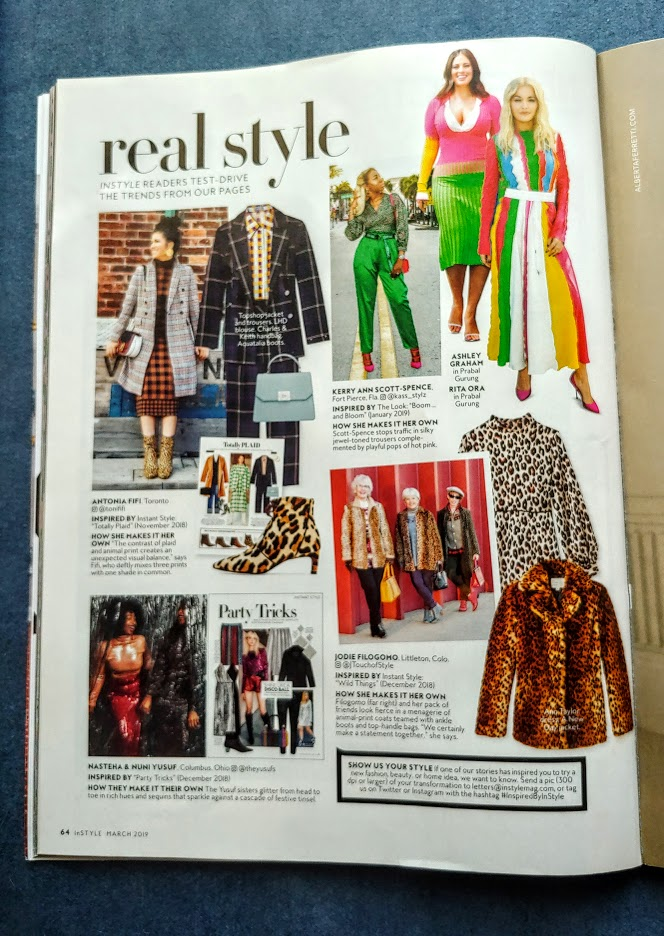 InStyle magazine feature for February highlights