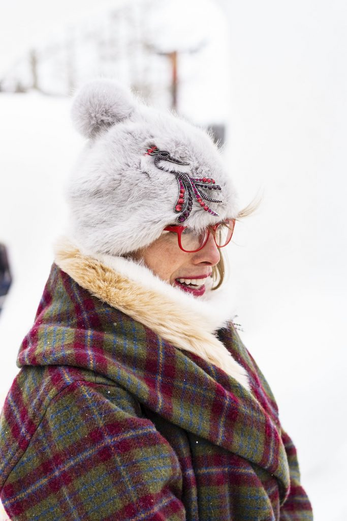 How to style a snow outfit with accessories