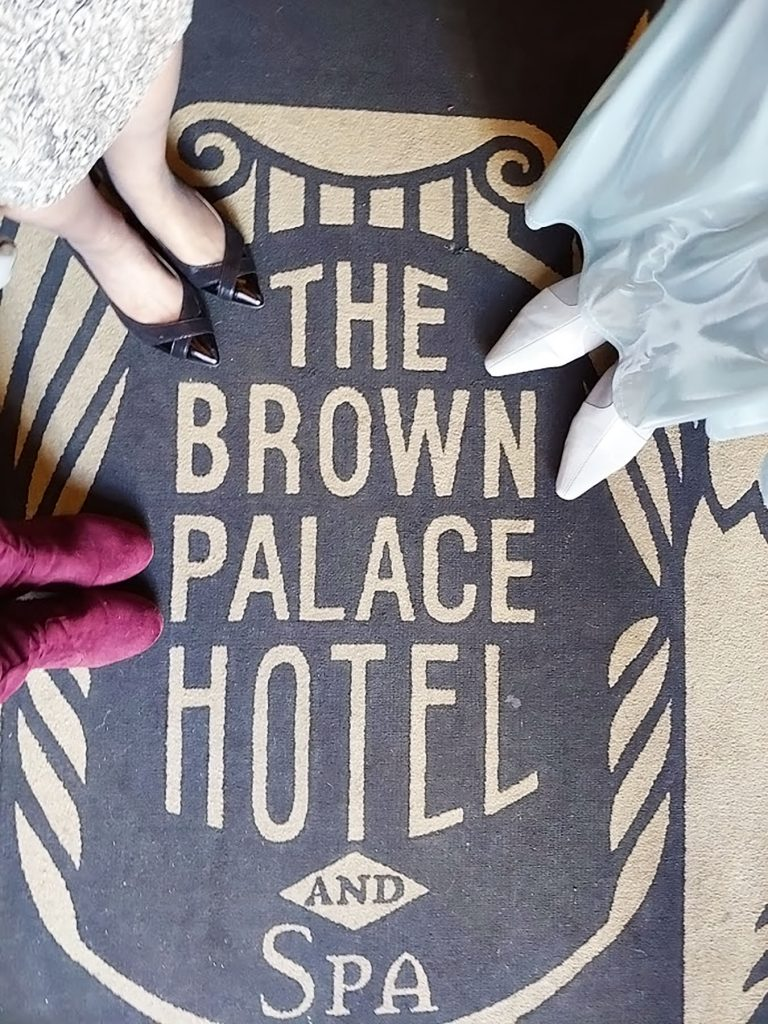 the Brown Palace hotel in Denver Colorado
