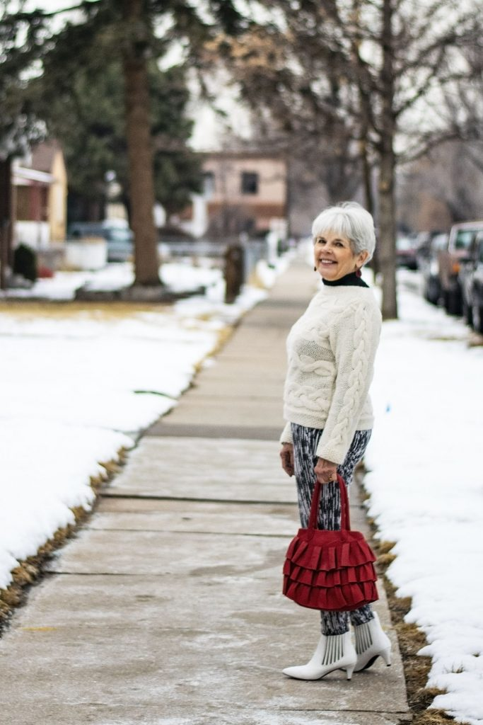 How to style white boots in Denver, Colorado