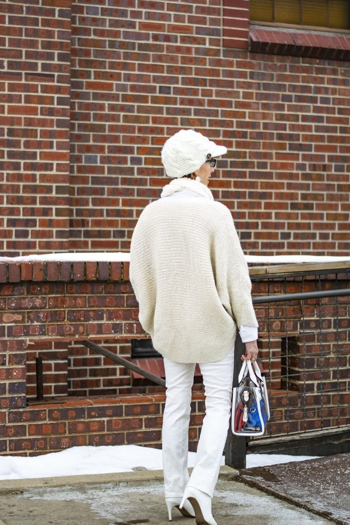 How to style white boots for a casual day