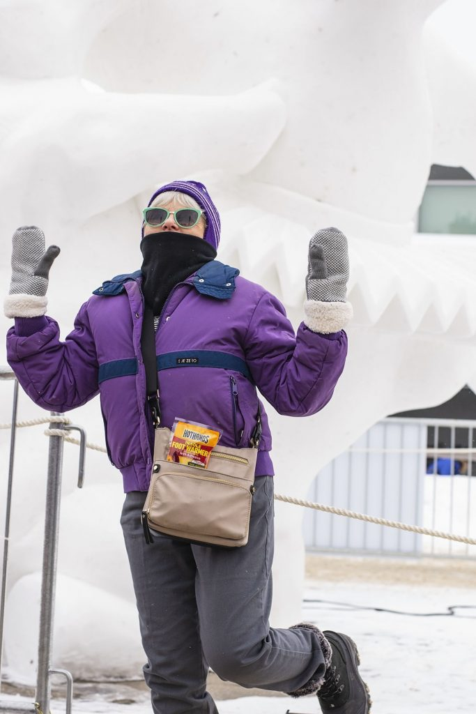 How to style a snow outfit to keep warm