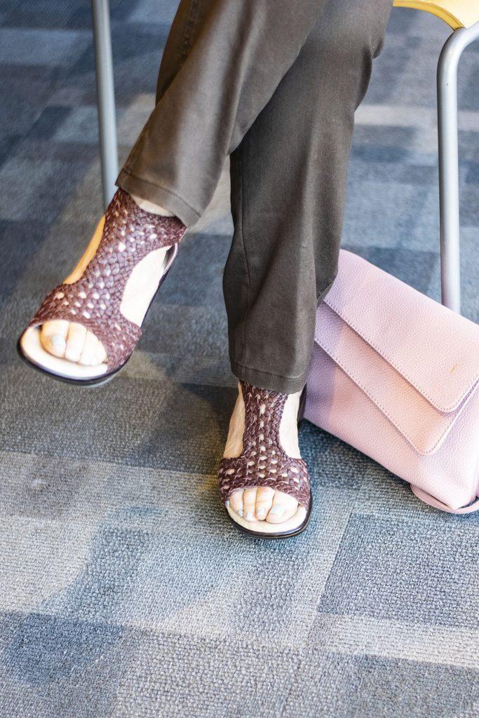 Comfortable Sandals for Women in cognac