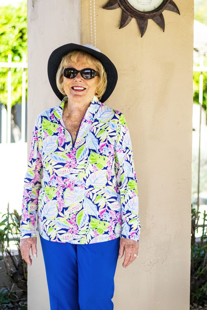 How to wear sun protection items for ladies over 70
