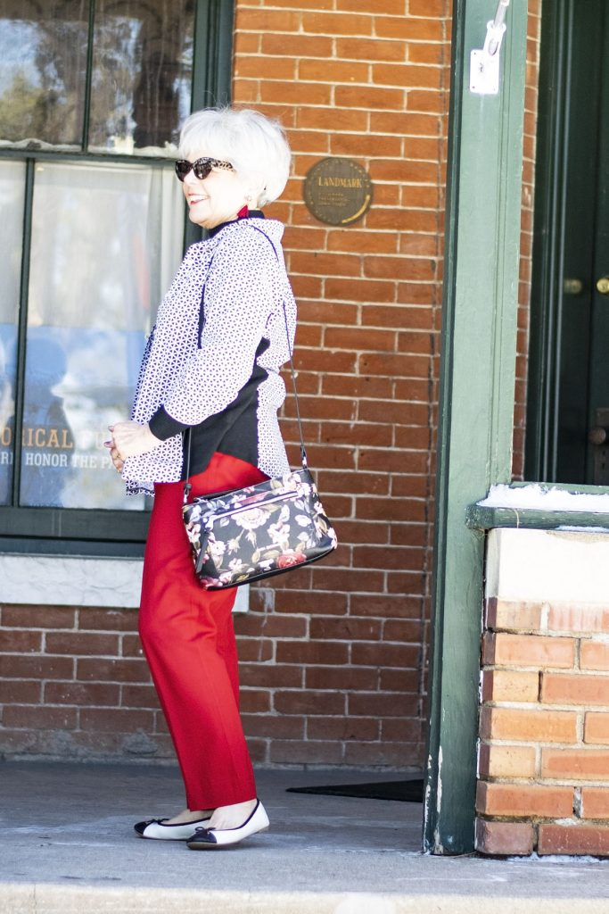 Styling black and white for spring with layers