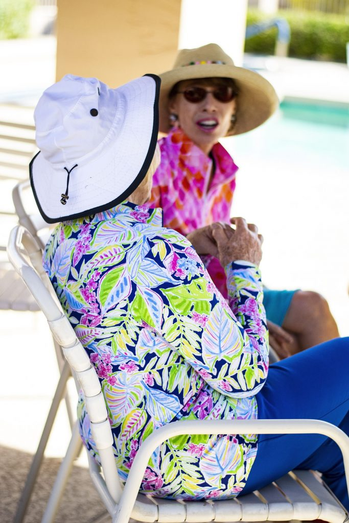 How to wear sun protection items and look stylish