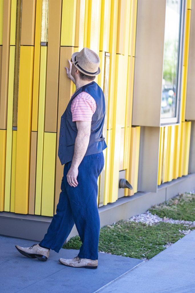 Showcasing men's fashion for spring