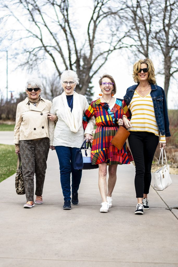 Ageless style in sneaker outfits