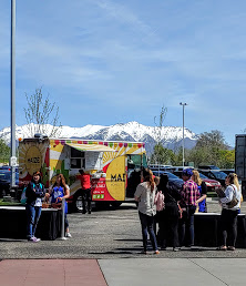 Food trucks at the Everything Food Conference