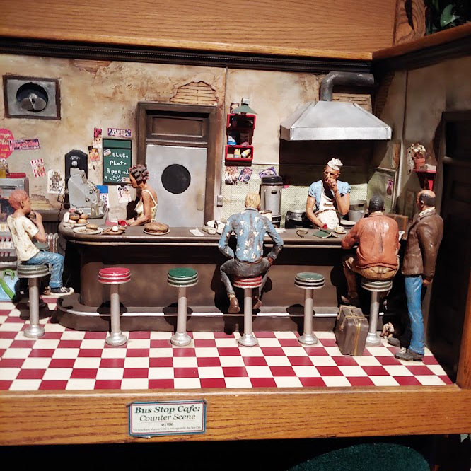 Bus Stop Cafe at the Michael Garman museum