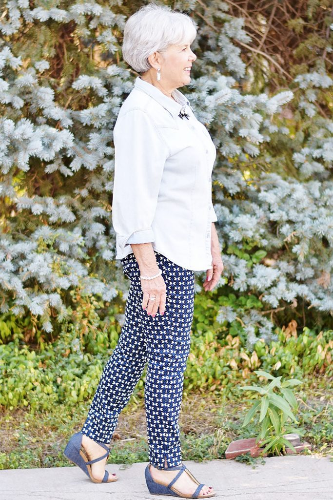 Navy and white for spring