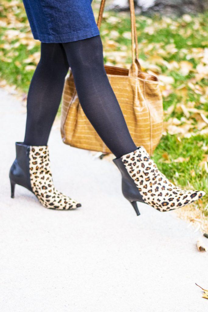 Walking Cradles Leopard boots