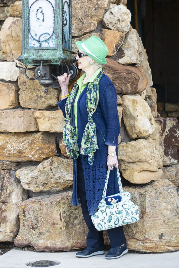 Casual outfit for women over 80