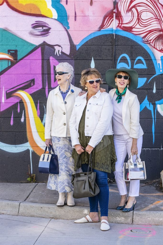Styling ladies spring jackets in Denver