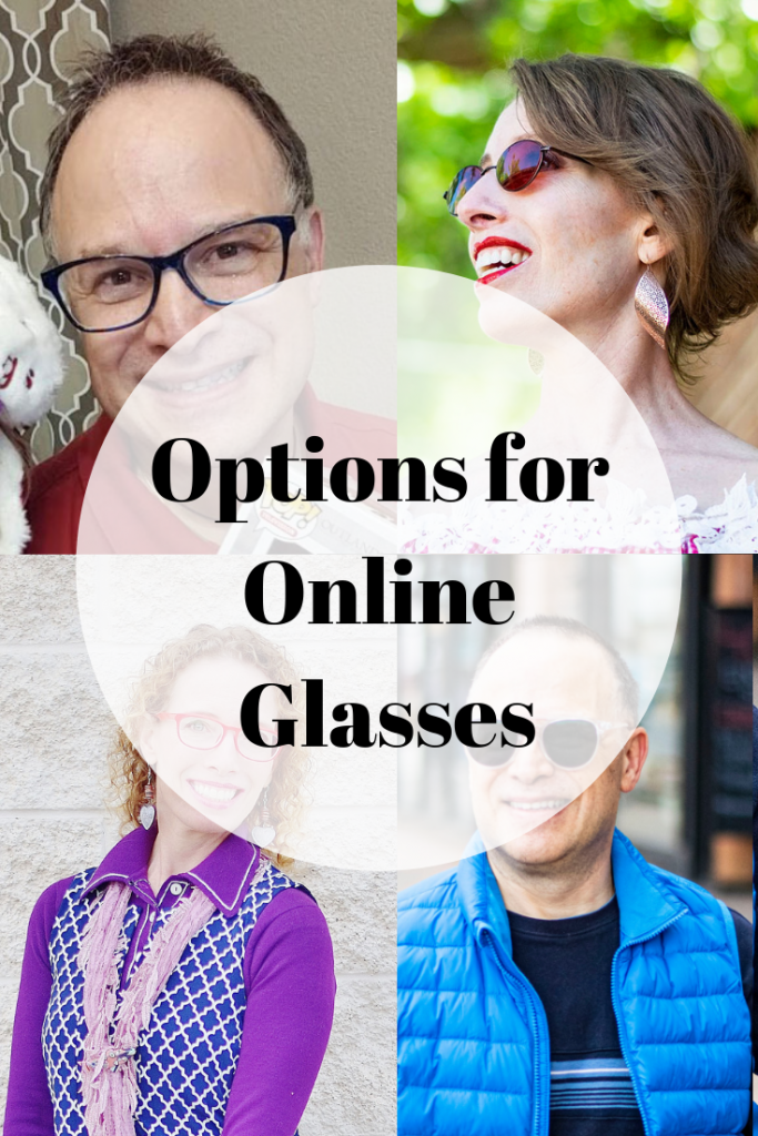 Different online options for prescription glasses