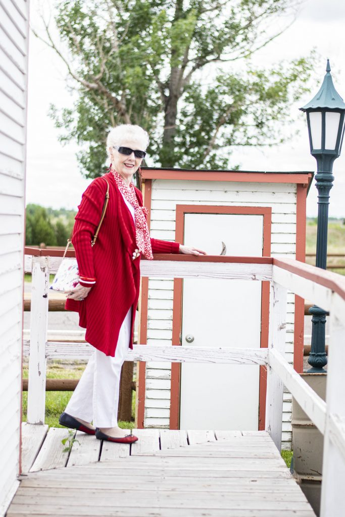 Woman over 80 styling