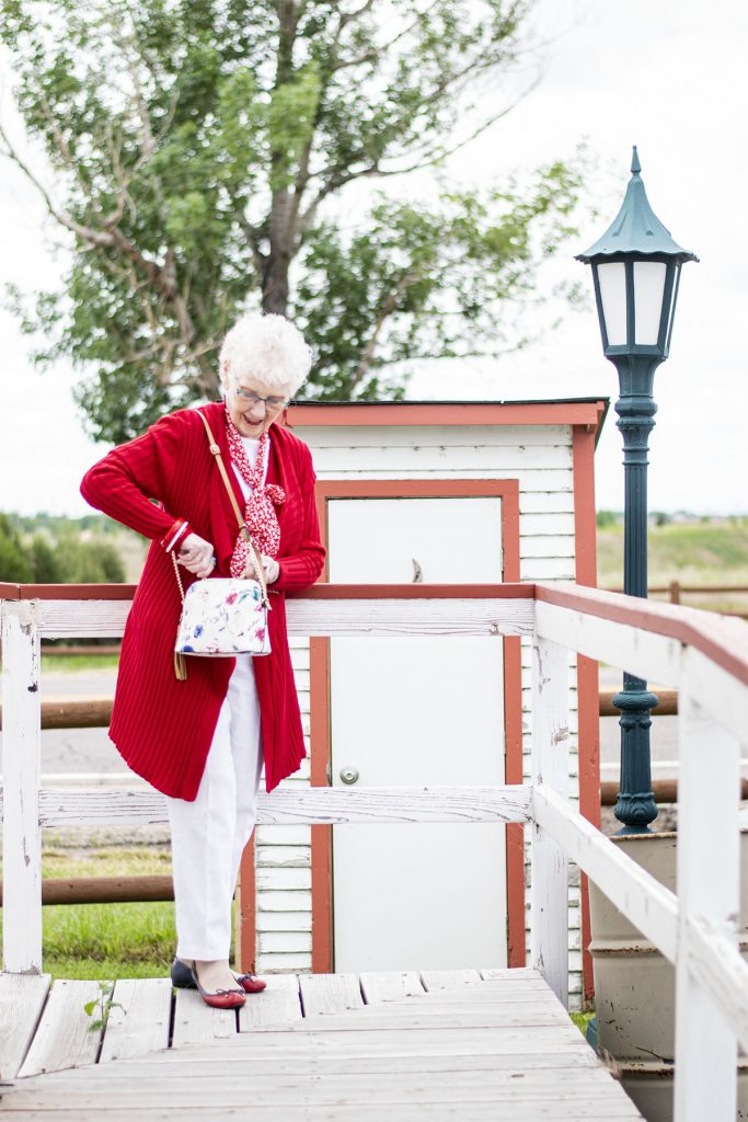 Fashion in the spring for older women