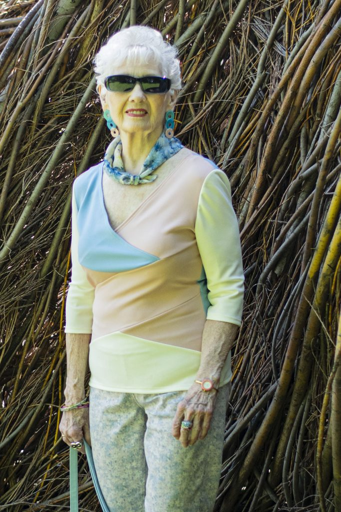Women over 80 and fashion