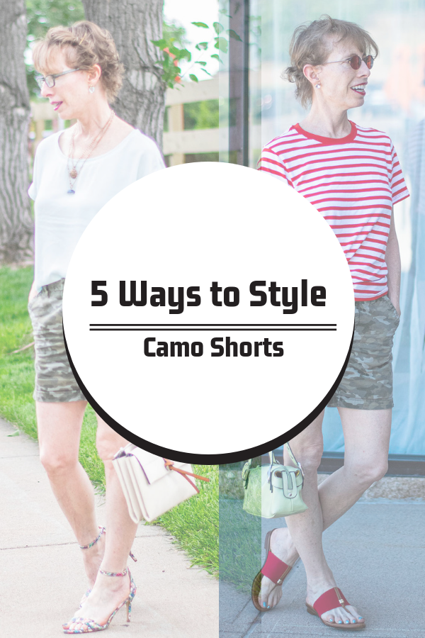 5 ways to style camo shorts