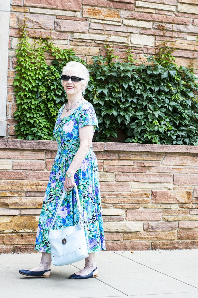 How to style a summer floral dress outfit