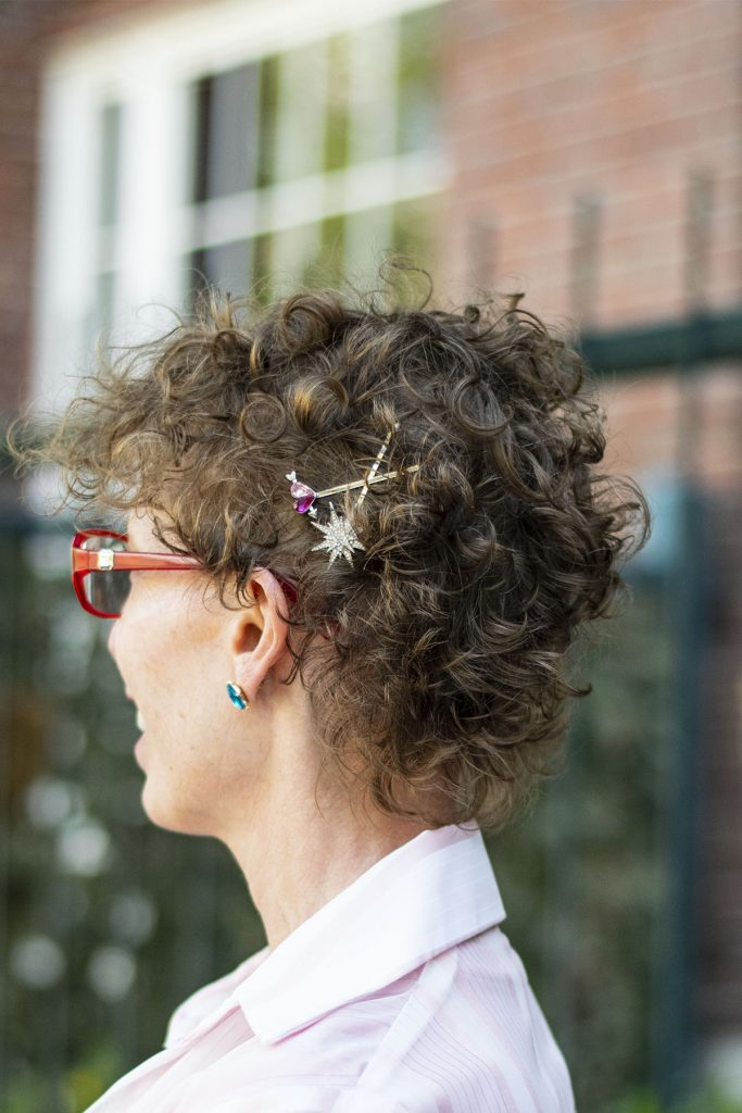 Hair accessories for older women