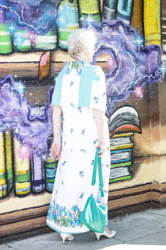 Long dress for older women