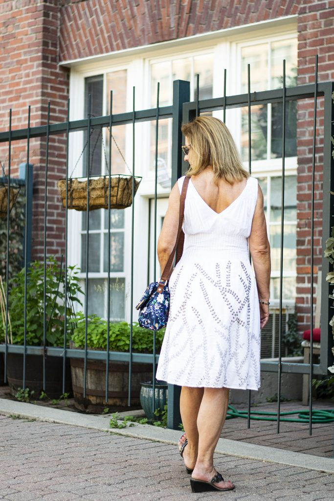 Staying cool with a dress in summer