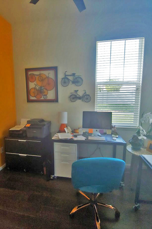Creating a home office space on a budget
