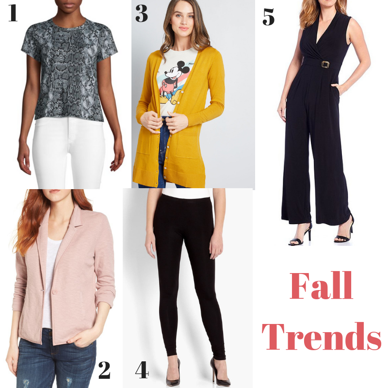 Fall Trends for 2019