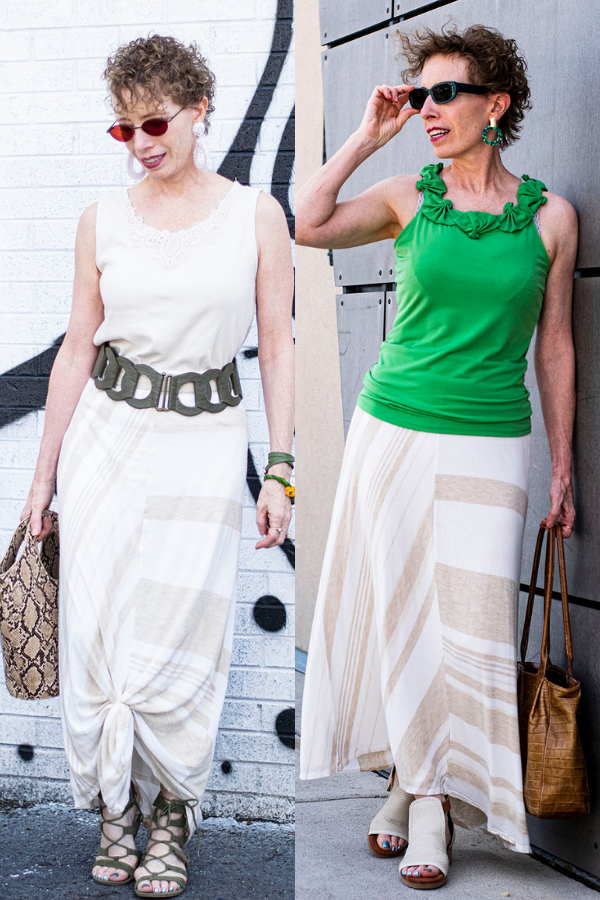 Different long skirt outfit ideas