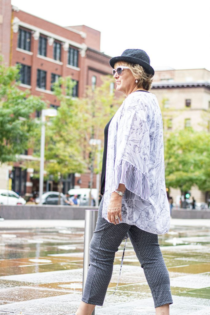 Kimono and hats to wear in summer
