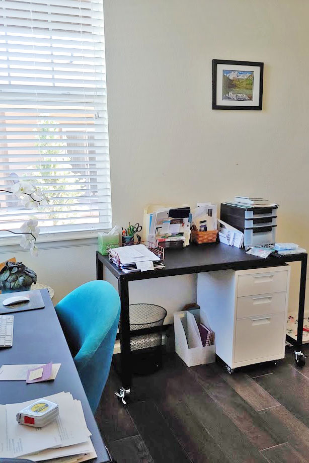 Organizing things in your home office