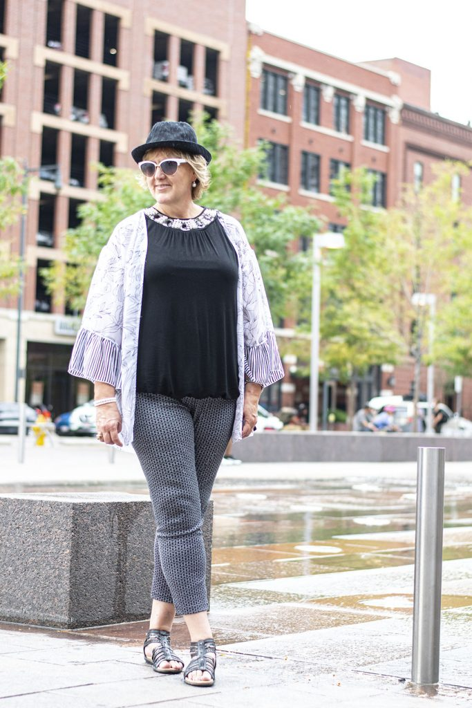 Woman over 50 and hats to wear in summer