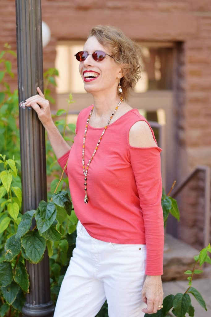 Nature inspired outfits for women over 50