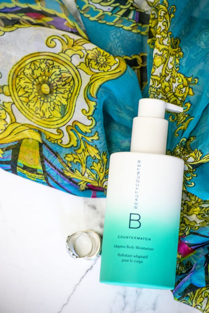 Beautycounter lotion as one of the things used everyday