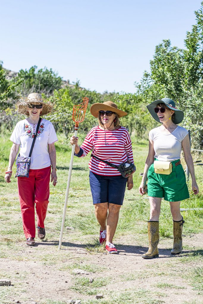 3 Decades of women with outfits to wear apple picking