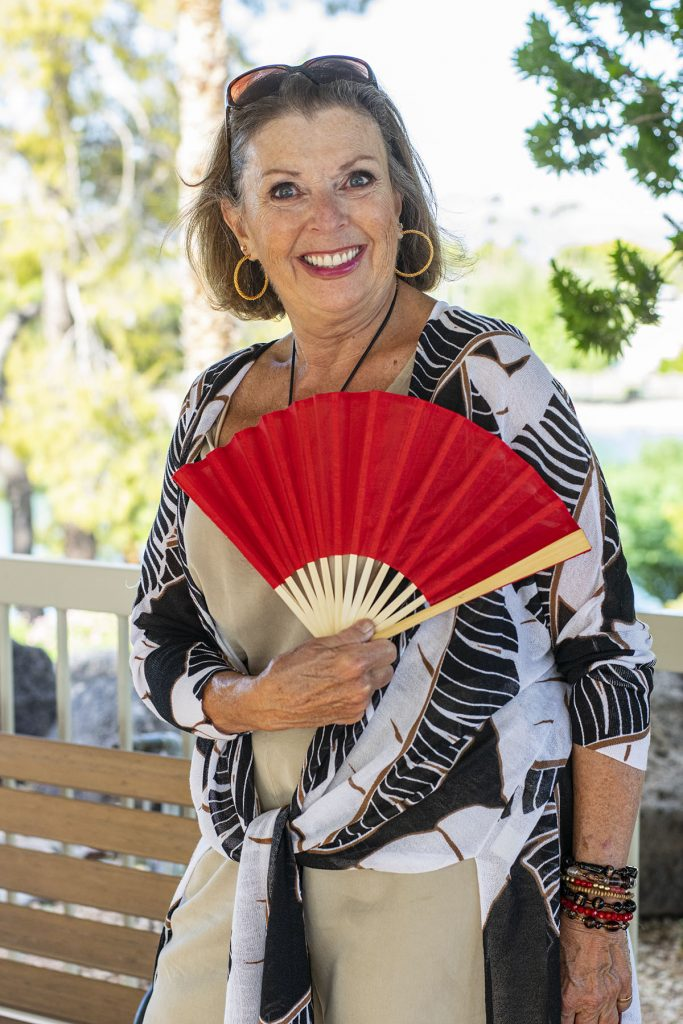 Adding a fan to your look