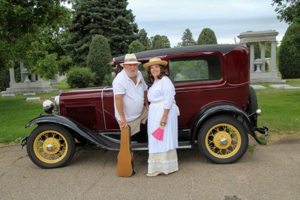Lesley and Wayne