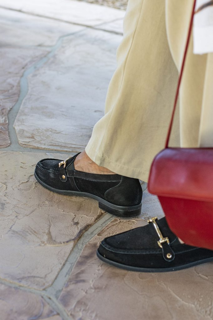 How to style loafers for fall