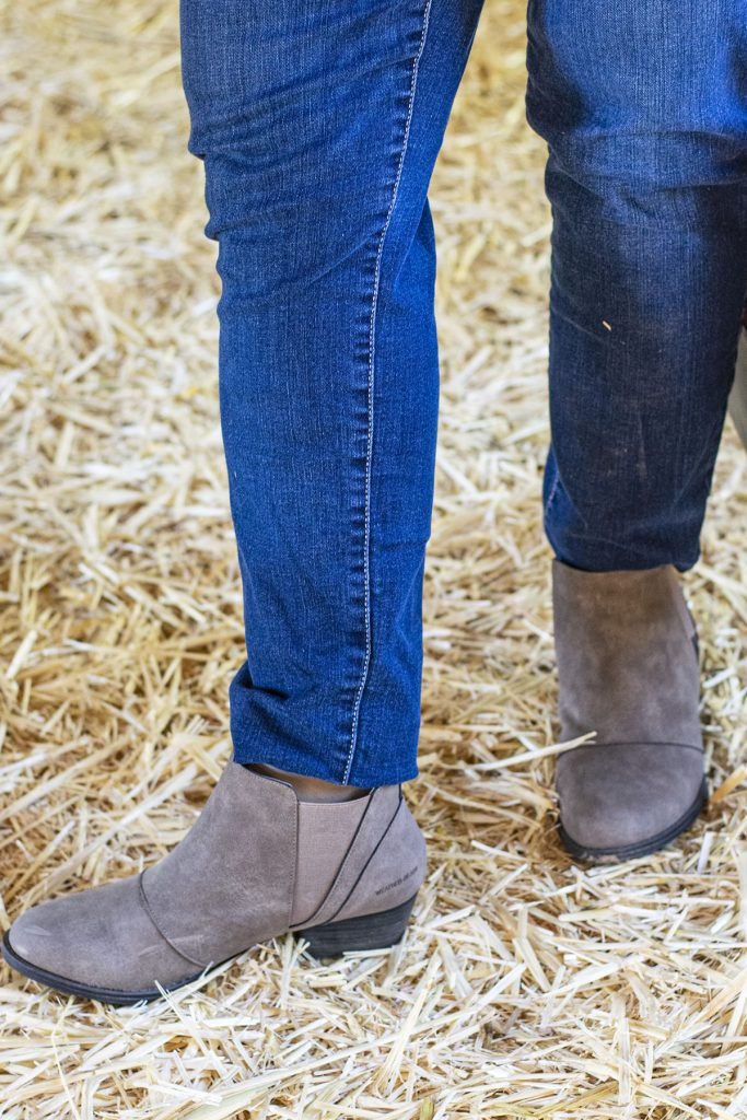 How to style boots with jeans