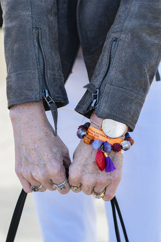 Arm candy for older women