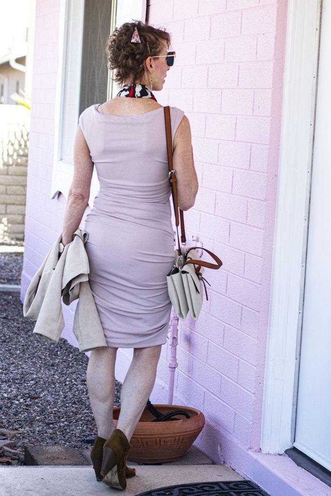 Bodycon dress for older women