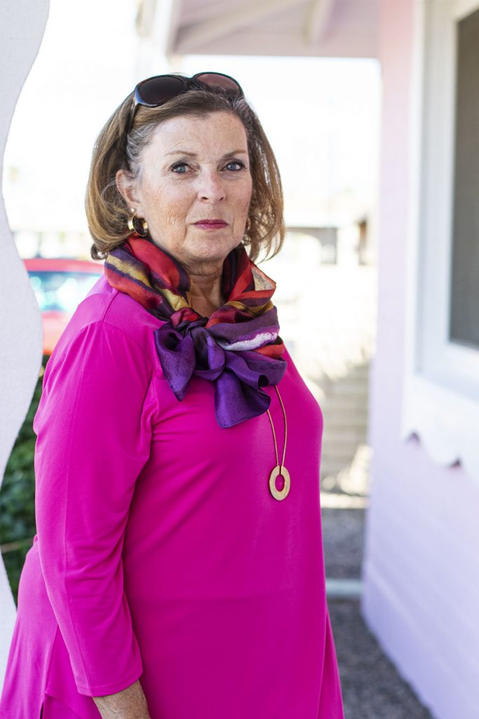 Styling the question of can you wear hot pink in the fall